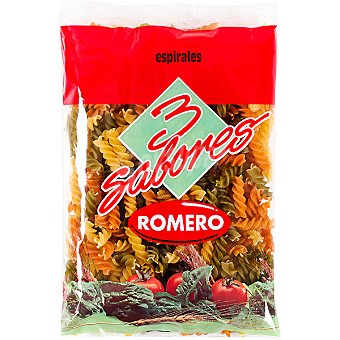 Romero espirales tricolor paquete 250 g