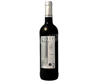 FUERO REAL Vino Tinto Ribera del Duero Crianza Botella 75 Centilitros