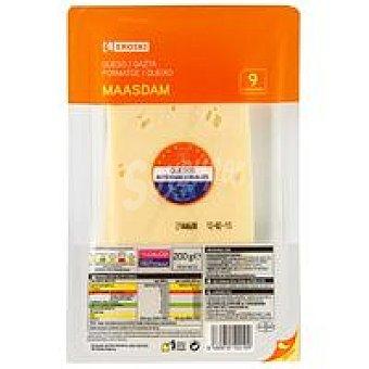 Eroski Queso Maasdam Bandeja 200 g