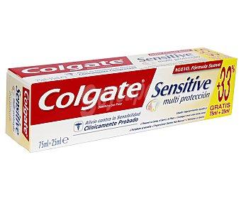 COLGATE SENSITIVE Dentifrico Multiprotección 75 Mililitros