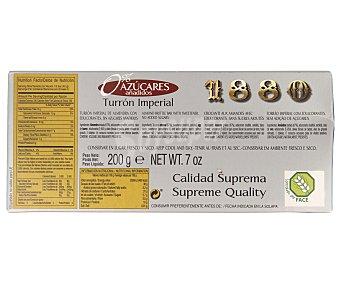 1880 Turrón duro sin azucares añadidos 200 gramos