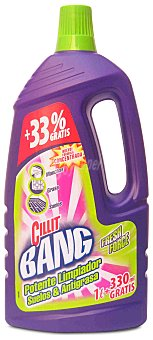 Cillit Bang Limpiador fresh suelos y antigrasa Botella 1 l + 33 % gratis