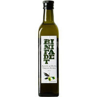 BINIFADET Aceite de oliva virgen extra Arbequina Botella 50 cl