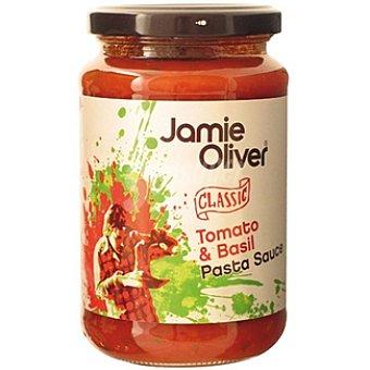 JAMIE OLIVER Salsa para pasta de tomate y albahaca Frasco 350 g