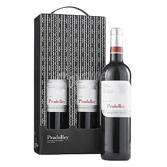 """Pradorey Estuche de vino D.O. """"ribera del Duero"""" tinto crianza Pack 2x75 cl"""