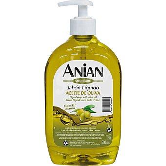 Anian jabón líquido de manos aceite de oliva dosificador 500 ml