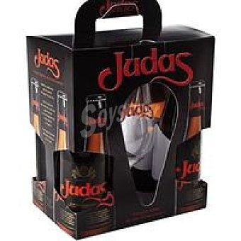 Judas Cervezas Pack 4x33 cl + Copa