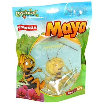 Hypnos Esponja de baño infantil Abeja Maya Bolsa 1 unidad