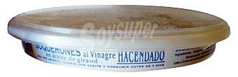 Hacendado Boquerones vinagre y aceite girasol Tarrina 265g escurrido