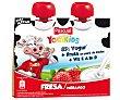 Yogur pasteurizado de fresa para llevar Pack de 2 uds de 80 gr Pascual yogikids