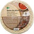 Bases de pizza fina 3 unidades Envase 450 g El Corte Inglés