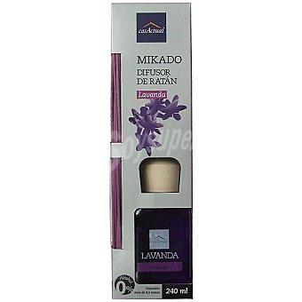 CASACTUAL Mikado Ambientador en varillas aromáticas Lavanda 240 ml