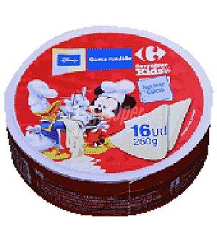 Carrefour Queso Fundido Porciones Carrefour Caja de 16 porciones