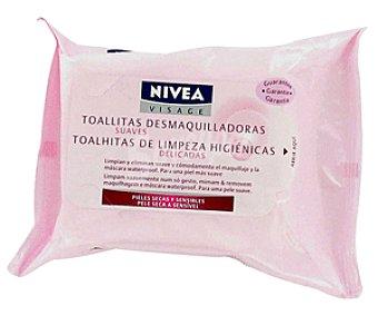 Nivea Toallitas Limpiadoras Visage 25 Unidades