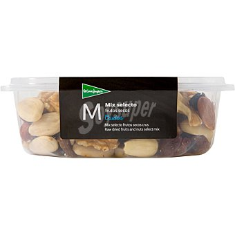 Hipercor mix selecto de frutos secos crudos Tarrina 200 g