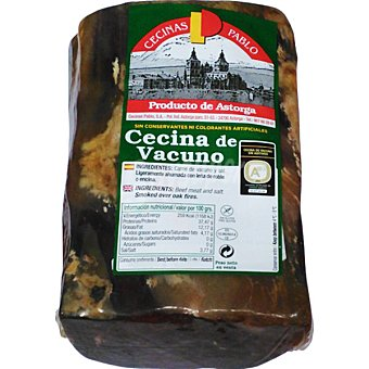 Cecinas pablo Cecina curada en taco peso aproximado pieza 700 g 700 g