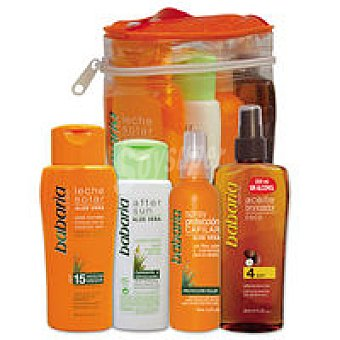 Babaria Pack solar capilar-aftersun Pack 650 ml + Regalo