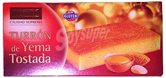 Hacendado Turron yema tostada *navidad* Pastilla 300 g