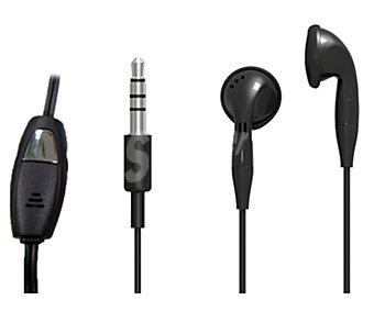 Productos Económicos Alcampo Auricular Intrauditívo selecline 852807 con micrófono y control de volumen, longitud del cable 1.2 metros,