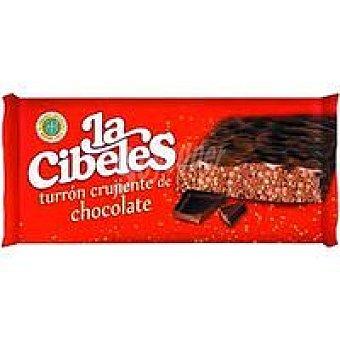 Cibeles Turrón crujiente de chocolate Caja 200 g