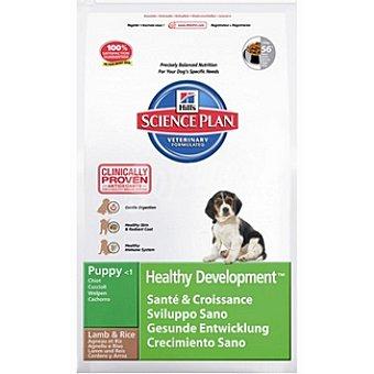 HILL'S SCIENCE PLAN PUPY Healthy Development Pienso superior para cachorros con cordero y arroz bolsa 12 kg Bolsa 12 kg