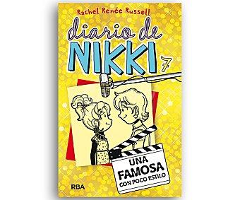 Rba Diario de Nikki 7, Una famosa con poco estilo, rachel renée russel. Género: infantil, juvenil. Editorial RBA