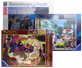 Ravensburger Puzzles de 1000 Piezas Surtidos ravensburguer