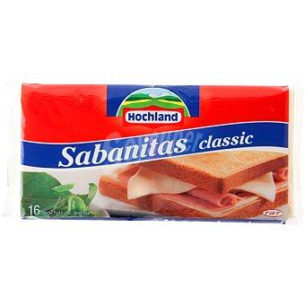 HOCHLAND Sabanitas Queso fundido en lonchas Bolsa 300 g