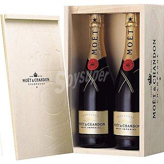 MOËT & CHANDON Imperial Champagne Estuche 2 botellas 75 cl Estuche 2 botellas 75 cl