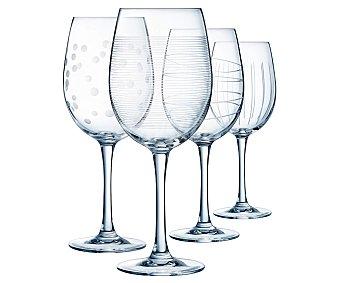 ECLAT D'Arques Set de 4 copas de vino, , d'arques eclat 0,47 litros