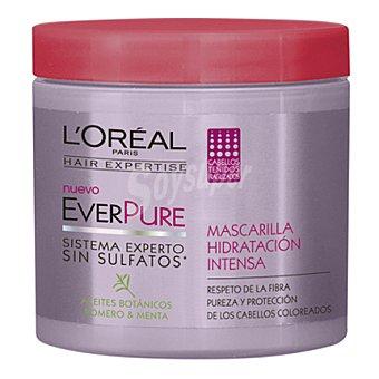 L'Oréal-Hair Expertise Mascarilla hidratación intensa everpure para cabellos teñidos 200 ml
