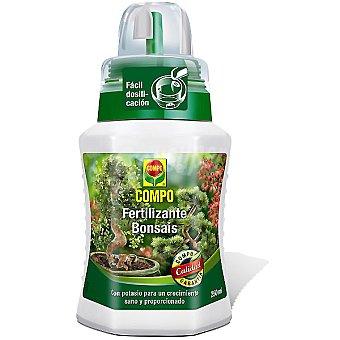 Compo Fertilizante Bonsáis con microelementos, es idóneo para todo tipo de bonsáis Botella 250 ml