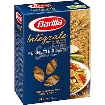BARILLA Macarron pennette rigate integral paquete 500 g