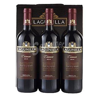 """Lagunilla Estuche de vino D.O. Ca. """"rioja"""" tinto crianza Pack 3x75 cl"""