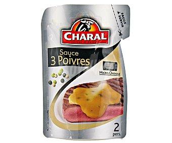 Charal Salsa 3 Pimientas 120 Gramos