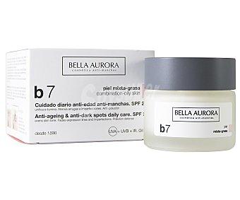 Bella Aurora Crema de uso diario con acción anti edad y anti manchas, para pieles mixtas a grasas B7 50 ml