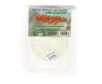 Villa Villera Queso fresco sin sal Tarrina 200 g