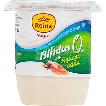 Postres Reina Yogur bifidus 0% natural con azúcar de caña envase 500 g envase 500 g