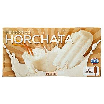 Hacendado Helado palo horchata Pack 10 x 75 ml