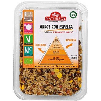 Natursoy Arroz con espelta ecológico Envase 230 g