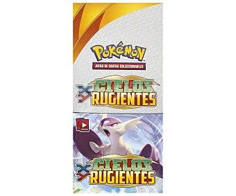 ASMODEE Sobres con 10 cartas Pokemon Cielos Rugientes 6 unidades