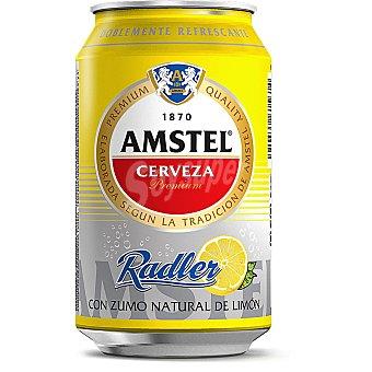 Amstel Cerveza con Zumo Natural de Limón Radler Lata 33 cl