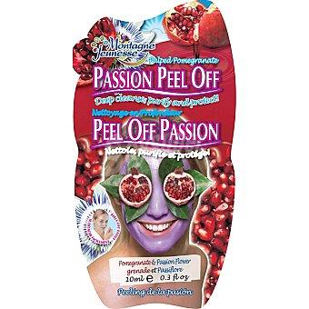Montagne Jeunesse Mascarilla facial peeling flor pasión Envase 10 ml