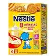 Papilla en polvo 8 cereales con galleta maría, a partir 6 meses Caja 600 g Nestlé
