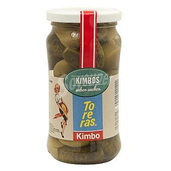 Kimbo Aceitunas rellenas de pepinillo Frasco 160 g neto escurrido