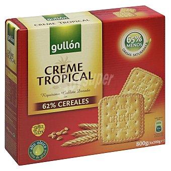 Gullón Galleta Crema Tropical 800 g