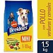 Pienso a base de pollo, buey y verduras para perros mini Saco 1,5 kg Brekkies Affinity