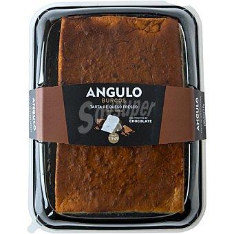 Angulo Tarta de queso con chocolate  1,8 kg (peso aproximado pieza)