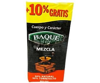 Baqué Café molido mezcla 250 gramos