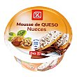 Mousse de queso con nueces Tarrina 150 g DIA